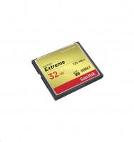 SanDisk Compact Flash Extreme karta 32GB UDMA7 (rychlost až 120MB/s)