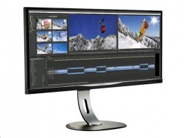 "Monitor Philips BDM3470UP/00 34"" LED, IPS-ADS, uwQHD, 14 ms, DVI-D, DP, USB"