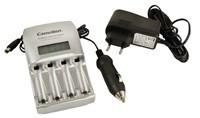 CAMELION nabíječka baterií BC-0907 Ultra Fast Charger incl. Car Adapter