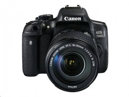Canon EOS 750D + objektiv EF-S 18 - 135 mm IS STM