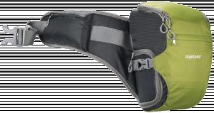 mantona ElementsPro 10 Venkovní Kameratasche zelená barva