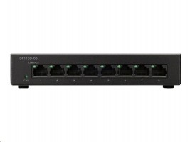 Cisco SF110D-08 8-Port 10/100 Desktop Switch (SF110D-08-EU)