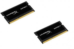 Kingston HyperX 2x8GB 1866MHz DDR3L CL11 SODIMM 1.35V HyperX Impact Black