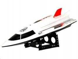 Speed King - závodní loď Speedboat 362 - bílá