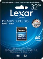 Lexar SDHC Card 32GB 300x Platinum II Class 10 UHS-I