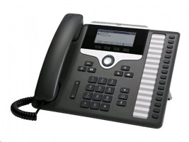 Cisco IP Phone 7861 Telefon VoIP - SIP, SRTP - 16 linek