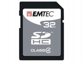 Emtec SDHC 32GB Class 4 Paměťová flash karta