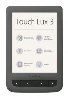 PocketBook 626 Touch Lux3 Grey ebook reader, 6´´ E-ink 1024x758 LCD, WLAN b/g/n, 4GB/SD