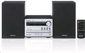 Panasonic hi-fi systém SC-PM250BEGS stříbrná barva