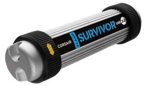 Corsair Flash Survivor USB 3.0 64GB, superodolný, vodotěsný