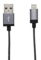 Verbatim Lightning Sync & Charge, 30cm, šedá