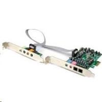 StarTech - Zvuková karta - PCI Express - 24-bit - 192KHz - SPDIF Digital Optical and 3.5mm analogový Audio