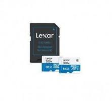 Lexar Flash card MicroSD 64GB C10 H.S.