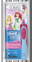 Braun Oral-B Stages Power Princezny cls, zubní kartáček, růžová/modrá