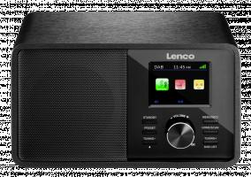 Lenco CR-2004DAB+ rádio černé (rozbaelný kus)