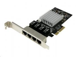 StarTech.com 4-Portový Gigabit Ethernet síťová karta, PCI Express, Intel I350 NIC
