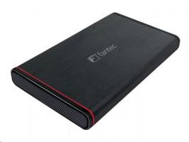 "FANTEC 225U3ESATAP - SATA 6G, box na HDD 2.5"", USB 3.0, eSATAp"