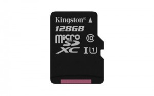 Kingston micro SDXC karta 128GB Class 10 UHS-I