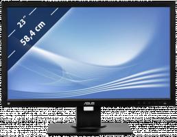 """ASUS MT 23"""" BE239QLB 1920x1080, LED, IPS, 5ms, 250cd, repro, VESA, D-SUB, DVI, DP, USB, BUSINESS, PIVOT"""