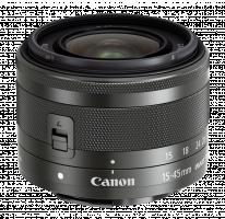 Canon EF-M 15-45mm f/3.5-6.3 IS STM černá