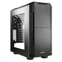 Bequiet, počítačová skříň Silent Base 600, průhledný boční panel, černá