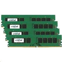Crucial 64GB sada DDR4 2133 MT/s 16GBx4 DIMM 288pin SR x8 unbuffe