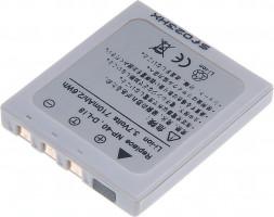 Baterie T6 power Fuji NP-40, Pentax D-Li8, Samsung SLB-0737, 700mAh, šedá (DCFU0002)