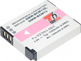 Baterie T6 power Panasonic DMW-BCM13, 1320mAh, černá (DCPA0026)