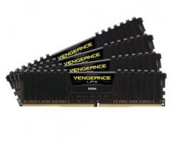 Corsair Vengeance RAM DDR4 LPX 64 GB (4x16GB), 2133MHz, 4x288 DIMM, Unbuffered