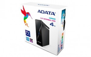 "External HDD Adata HM900, 3,5"", 4TB USB 3.0, Black"