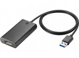 HP UHD USB Graphics adaptér