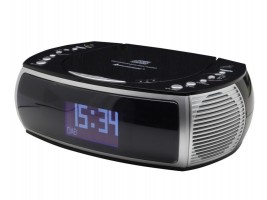 Soundmaster URD470SW radiobudík s CD/MP3 a USB / CD, CD/MP3, CD-R/CD-RW / Aux-in / LCD-Display / černý