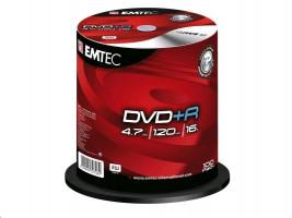EMTEC DVD+R 4,7 GB 16x - 100ks