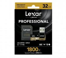 Lexar microSDHC 1800x 32GB UHS-II