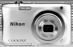 Nikon kompakt COOLPIX A10 sada Stříbrný fotoaparát