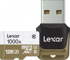 Lexar microSDHC 1000x 128GB UHS-II s USB 3.0 Reader