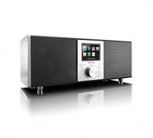 Lenco DIR-2000 rádio, černá