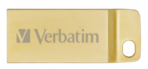Verbatim Metal Executive 32 GB USB DRIVE 3.0 zlatá