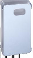 Samsung lesklý Cover EF-QG928 f Galaxy S6 Edge+ Stříbrný ochranný kryt
