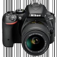 Nikon D5500 sada Černý fotoaparát + AF-P 18-55 VR