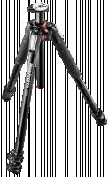Manfrotto 055 Alu 3 Segments + Velbon FHD-71Q