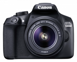 Canon EOS 1300D + Objektiv EF-S 18-55 IS