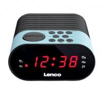 Lenco CR-07 Rádiobudík, modrá