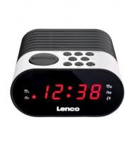 Lenco CR-07 Rádiobudík, bílá