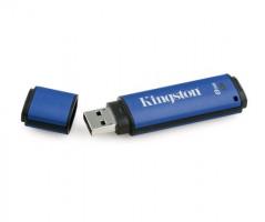 Kingston 8 GB DTVP30 256 Bit AES FIPS 197