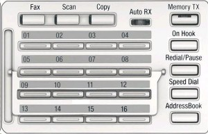 Konica Minolta MK-749 Fax/Scan ovládací panel pro Bizhub 226