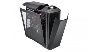 Cooler Master skříň miditower free form MasterCase Maker 5, ATX, USB3.0, bez zdroje, průhledná bočnice, black