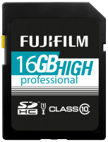 Fujifilm 16GB SDHC Card UHS-I High Professional Class 10 UHS-I
