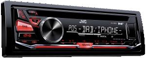 JVC KD-DB67 incl. DAB-Antenna