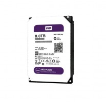 HDD 8TB WD80PUZXX Purple 128MB SATAIII 5400rpm 3RZ